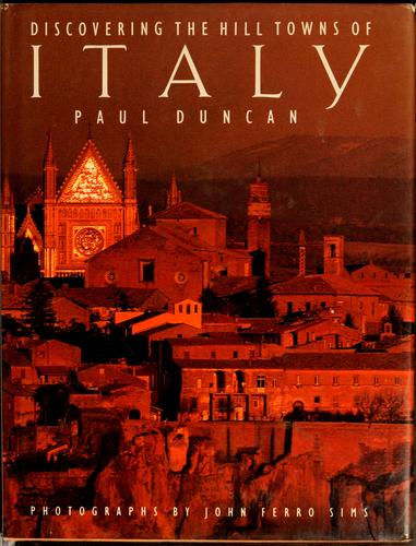 Download Discovering the hill towns of Italy