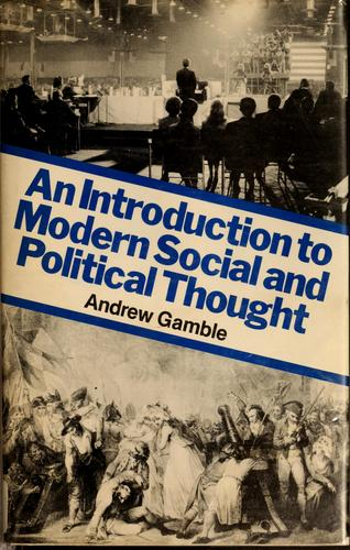 Download An introduction to modern social and political thought