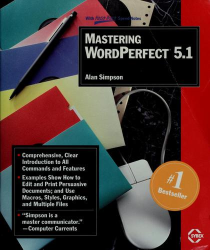Download Mastering WordPerfect 5.1