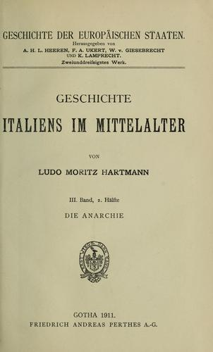Download Geschichte italiens im Mittelalter.