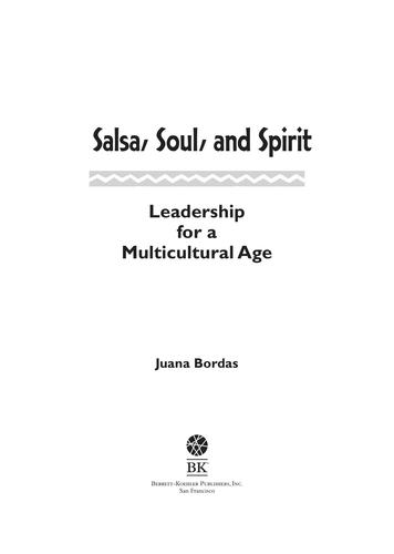 Salsa Soul and Spirit by Juana Bordas