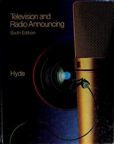 Download Television and radio announcing