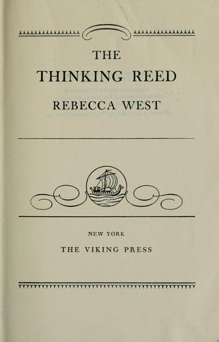 The thinking reed.