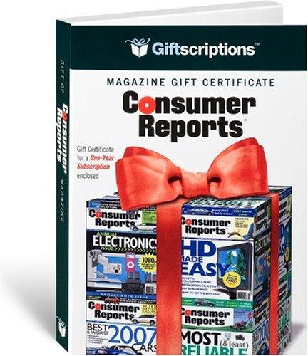 Giftscriptions Magazine Gift Certificate