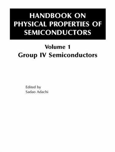 Handbook of Physical Properties of Semiconductors