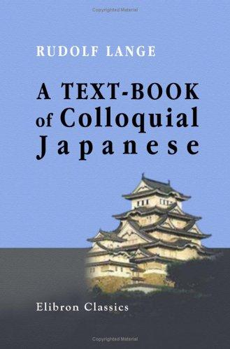 Download A Text-book of Colloquial Japanese