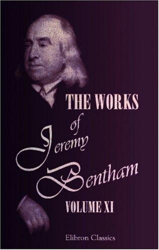 Download The Works of Jeremy Bentham