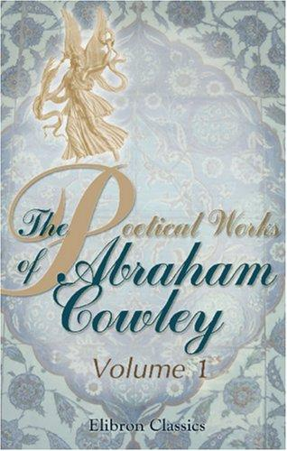 Download The Poetical Works of Abraham Cowley
