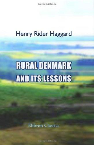 Download Rural Denmark and Its Lessons