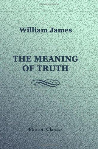 Download The Meaning of Truth