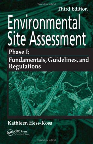 Environmental Site Assessment Phase I