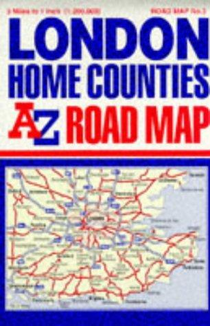 A-Z Road Map of Great Britain (A-Z 3 Miles to 1 Inch)