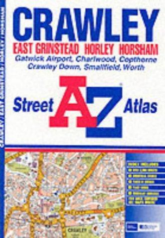 A-Z Crawley Street Atlas
