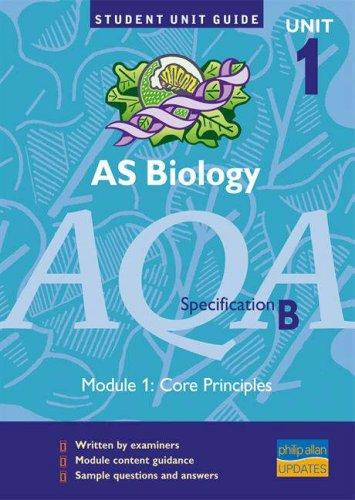 Download AS Biology AQA (B) (Student Unit Guides)