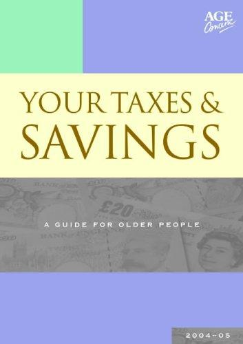 Your Taxes and Savings