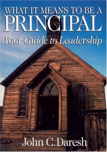 Download What It Means to Be a Principal