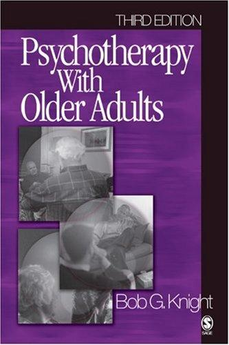 Download Psychotherapy with Older Adults