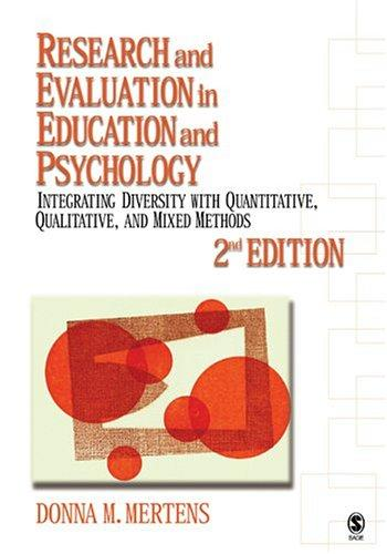 Download Research and Evaluation in Education and Psychology