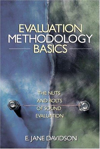 Evaluation Methodology Basics