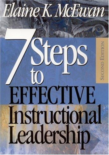 Download Seven Steps to Effective Instructional Leadership