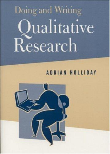 Download Doing and writing qualitative research