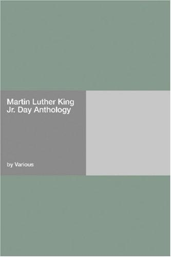 Download Martin Luther King Jr. Day Anthology