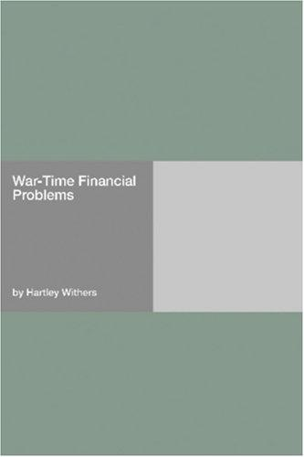 War-Time Financial Problems