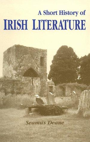 Download A Short History of Irish Literature