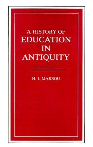 Download A history of education in antiquity