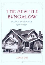 The Seattle Bungalow: People And Houses, 1900-1940 PDF Download