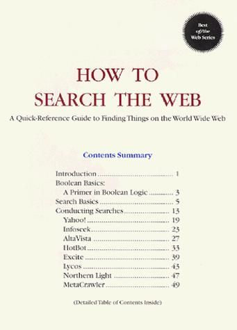 Download How to Search the Web