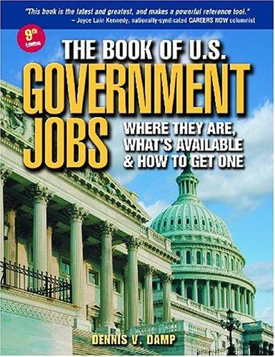 Download The Book of U.S. Government Jobs