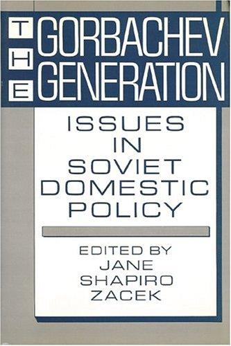 Download The Gorbachev Generation