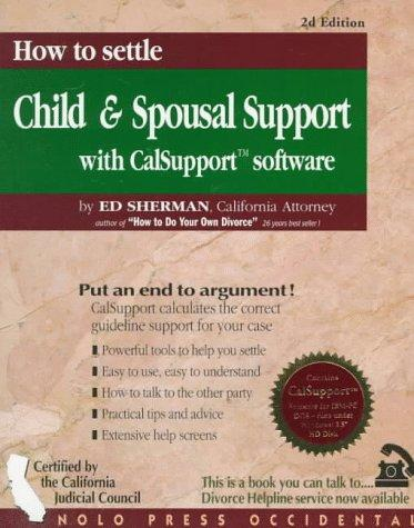How to settle child & spousal support