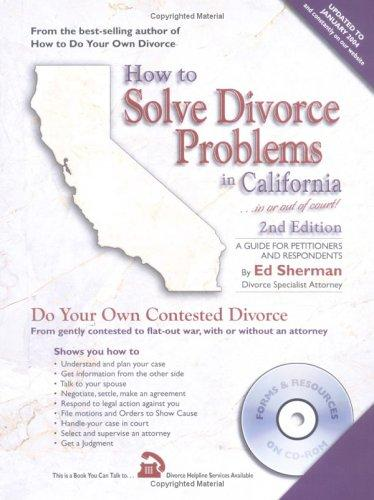 Download How to solve divorce problems in California