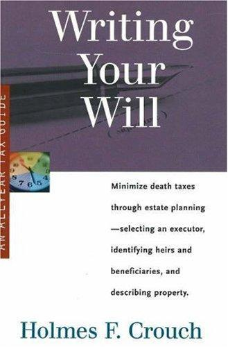 Download Writing your will