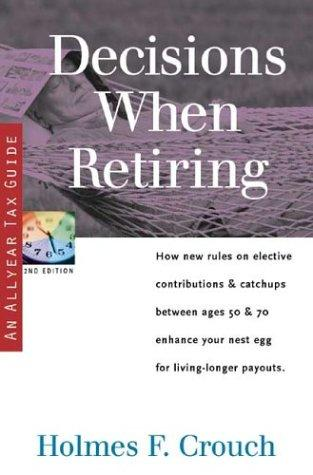Download Decisions when retiring