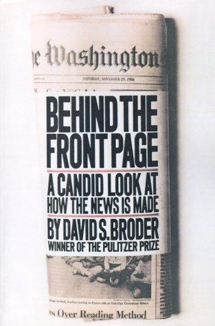 Download Behind the Front Page