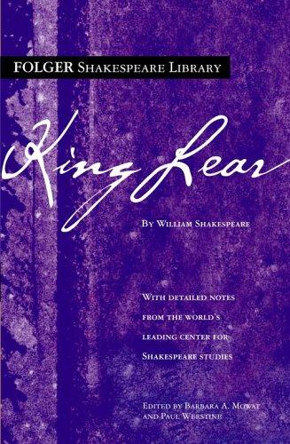 King Lear by William Shakespeare, Paul Werstine
