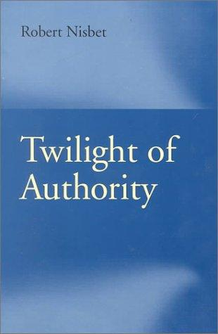 Download Twilight of Authority