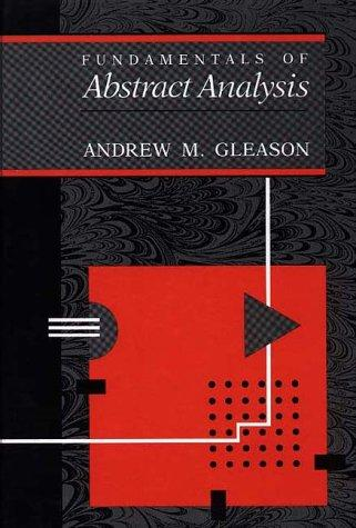 Download Fundamentals of abstract analysis