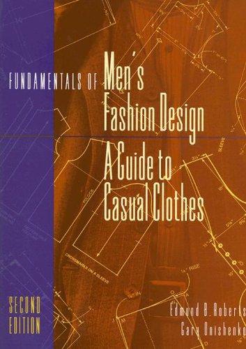 Fundamentals of men's fashion design