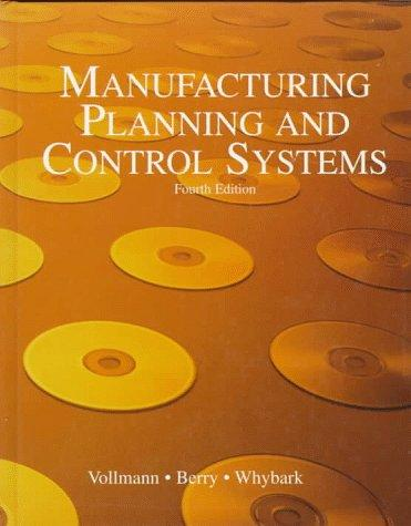 Download Manufacturing planning and control systems