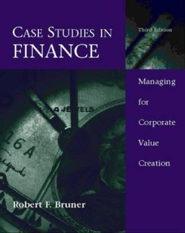 Download Case studies in finance