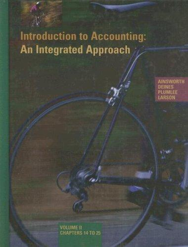 Download Introduction to Accounting: An Integrated Approach
