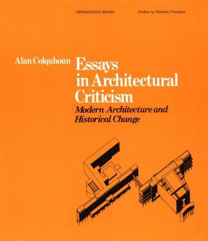 Download Essays in Architectural Criticism