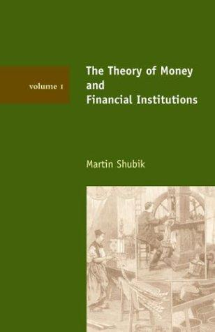 Download The Theory of Money and Financial Institutions