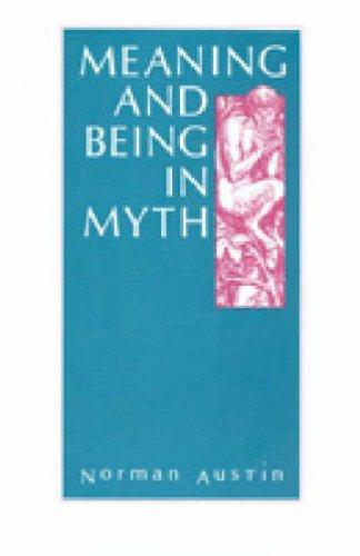Image for Meaning and Being in Myth