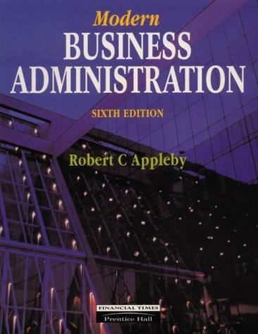Download Modern Business Administration