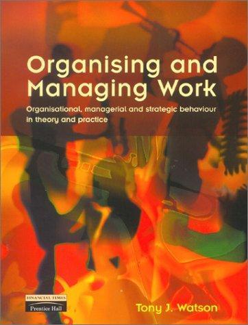 Download Organising and managing work
